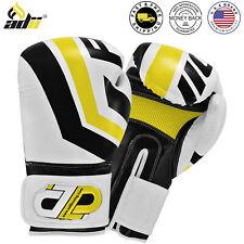 ADii™ Skin-Tec Leather Boxing Gloves Punching Training Kickboxing Sparring Glove