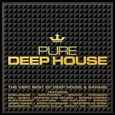 Pure Deep House - The Very Best Of Deep House & Garage - Various (NEW 3CD)