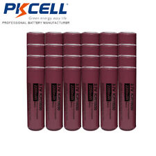 20 x 18650 2200mAh 3.7V Li-ion Rechargeable Battery for Flashlight PKCELL