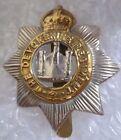WW1 The Devonshire Regiment Cap Badge DR Badge KC ANTIQUE Genuine