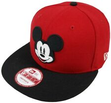 e29318afacb New Era Mickey Mouse Fa Red Snapback Cap M L 9fifty Special Limited Edition