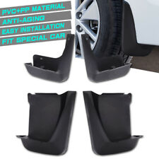 MICTUNING 4 Pack Black Car Splash Guards Mud Flaps Mudguard Kit For Honda Accord