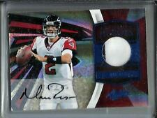 Matt Ryan 2010 Absolute Memorabilia Autograph Game Used Jersey #5/5