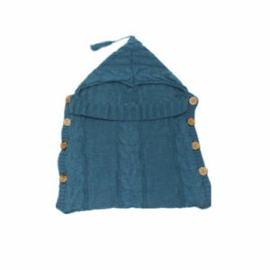 Newborn Baby Girls Boys Crochet Knit Costume Photo Photography Prop Sleeping Bag