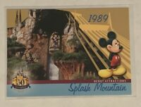 RARE Splash Mountain Disneyland 2005 Upper Deck Card ONLYONE ON EBAY