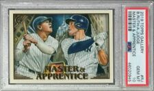 2019 Topps Gallery Master & Apprentice Babe Ruth Aaron Judge PSA 10