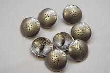 8pc 23mm Pewter Incan Sun Inspired Metal Coat Cardigan Knitwear Kid Button 3316