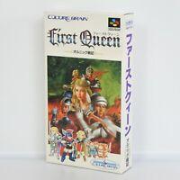 Super Famicom FIRST QUEEN Unused/Faded Nintendo 9043 sf