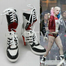 Harley Quinn Highheel Boots CosplayNew Suicide Squad Costume Fancy/Dress Shoes^^
