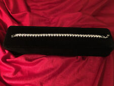 3.5CT Diamond Tennis Bracelet in 14k white gold Toned 7.25 inches