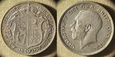 Great Britain : 1920 1/2 Cr Xf+ #818.1a Ir7739