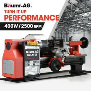 【EXTRA10%OFF】BAUMR-AG Mini Metal Lathe Small Hobby Micro Variable Speed