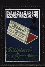 400263/ Reklamemarke - PELIKAN-Werke - Günther Wagner - HANNOVER