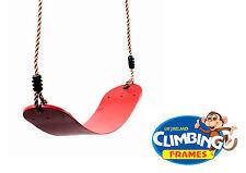 ROSSO flessibile avvolgente Sling CINGHIA Swing sedile già assemblato-NUOVO - 700mm lunghezza