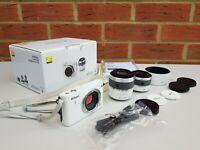 Nikon Mirrorless 14MP HDMI QuickTime, Pict Bridge, Muvee, SD XC Digital Camera