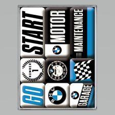 BMW Magnets! Quality German Motor Cars 9 Piece Magnet Gift Set