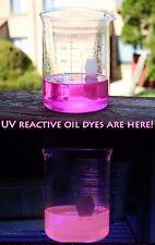 32oz Blacklight UV Reactive Hot Pink Rain Lamp Oil for Vintage Rain Drop Lamps