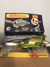 Vintage Dinky Toys 351 UFO Interceptor Toy Space Ship