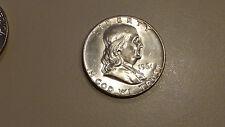 1961 Ben Franklin Silver Half Dollars BU UNC Uncirculated