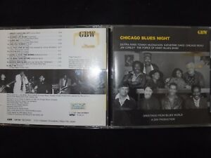 CD CHICAGO BLUES NIGHT / RARE / JAPAN PRESSAGE /