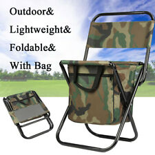 Portable Beach Camping Folding Chair Camping Camp Fishing outdoor camouflage