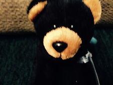 Webkinz Black Bear Kinz Klip with Sealed Code for online NWT