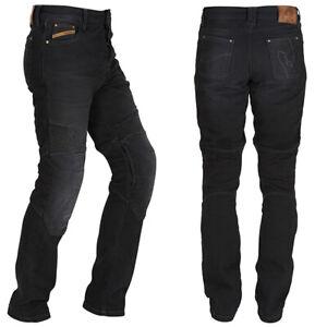 25% OFF Furygan Steed Motorrad Jeans Aramidfaser Abrieb Schwarz Hose D30 Armour