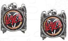 Slayer Silver Eagle Stud Earrings Boucles d'oreilles Boucles d'oreille Official Merchandise