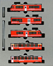 "Kato 10-1318 Swiss Rhaetian Railway ""Bernina Express"" 5 Cars Set (N scale)"