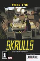 Meet The Skrulls #1 (Marvel 2019) 2nd Printing Marcos Martin Variant