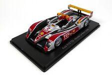 Audi R10 TDI #2 Winner Le Mans 2008 - 1/43 Spark Hachette Voiture Miniature 06