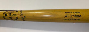 Vintage Al Kaline Wilson A1300 model Baseball Bat Detroit Tigers