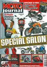 Moto journal # 1827 Salon Cologne 2009 Di Meglio Ducati Buell Aprilia BMW Dark