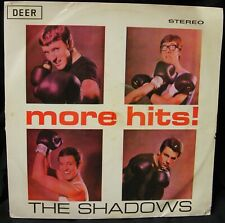 THE SHADOWS - MORE HITS! LP MALAYSIAN ISSUE DEER LABEL LCK4018 STEREO