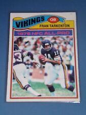 1977 Topps FRAN TARKENTON #400-Vikings,