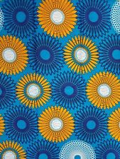 African Print Fabric 100% Cotton 45'' wide sold by the yard FREE SHIPPING