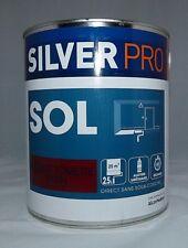 Peinture SOL Silver Pro 2,5 L (Rouge tomette satin)