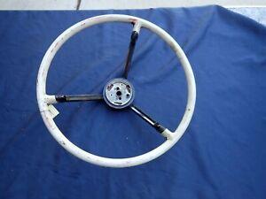 1959 Ford Galaxie steering wheel