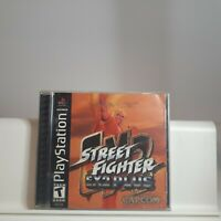 Street Fighter Ex2 Plus - Sony PlayStation PS1 Authentic/Tested