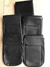 "1 X Ex Police Leather Document Pouch For 2"" Kit Belt."