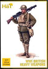 HaT Miniatures 1/72 WORLD WAR I BRITISH HEAVY WEAPONS TROOPS Figure Set