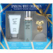 White Diamonds Sparkling EDT Spray 1.7 oz & Body Lotion 1.7 oz & White Diamonds