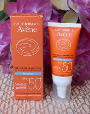 Avene  Sun emulsion SPF50+  Face Cream for Sensitive Skin 50ml /1.69fl.oz