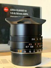 Leica 11677 Elmarit-M 28mm f/2.8 ASPH Lens- Brand New in Box + Leica UV Filter
