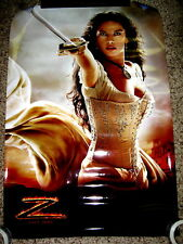 Zorro with Catherine Zeta-Jones Movie Poster 27 x 40 Double Sided Rolled