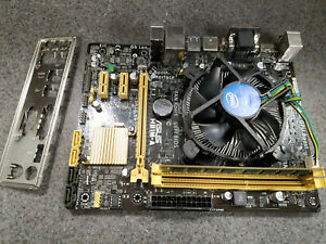 Asus H81M-A 1150 Motherboard + Intel i5-4460 3.20 Ghz Quad Core CPU + 8GB RAM
