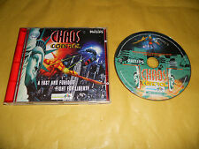 PC GAME-CHAOS CONTROL-Computer-Gioco-Games-MULTILINGUE-ITALIANO-ITA