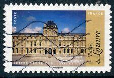 TIMBRE FRANCE AUTOADHESIF OBLITERE N° 1113 / ARCHITECTURE / PALAIS DU LOUVRE