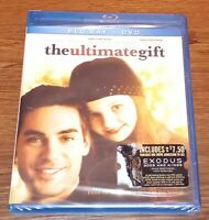 The Ultimate Gift (Blu-ray/DVD, 2011, 2-Disc Set) Brand New Rare