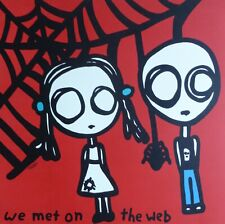 """Todd Goldman """"We Met on the Web"""" Hand signed lithograph on archival paper"""